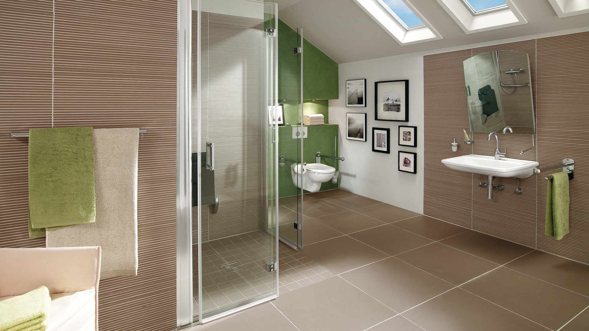 das barrierefreie badezimmer f r jung und alt. Black Bedroom Furniture Sets. Home Design Ideas
