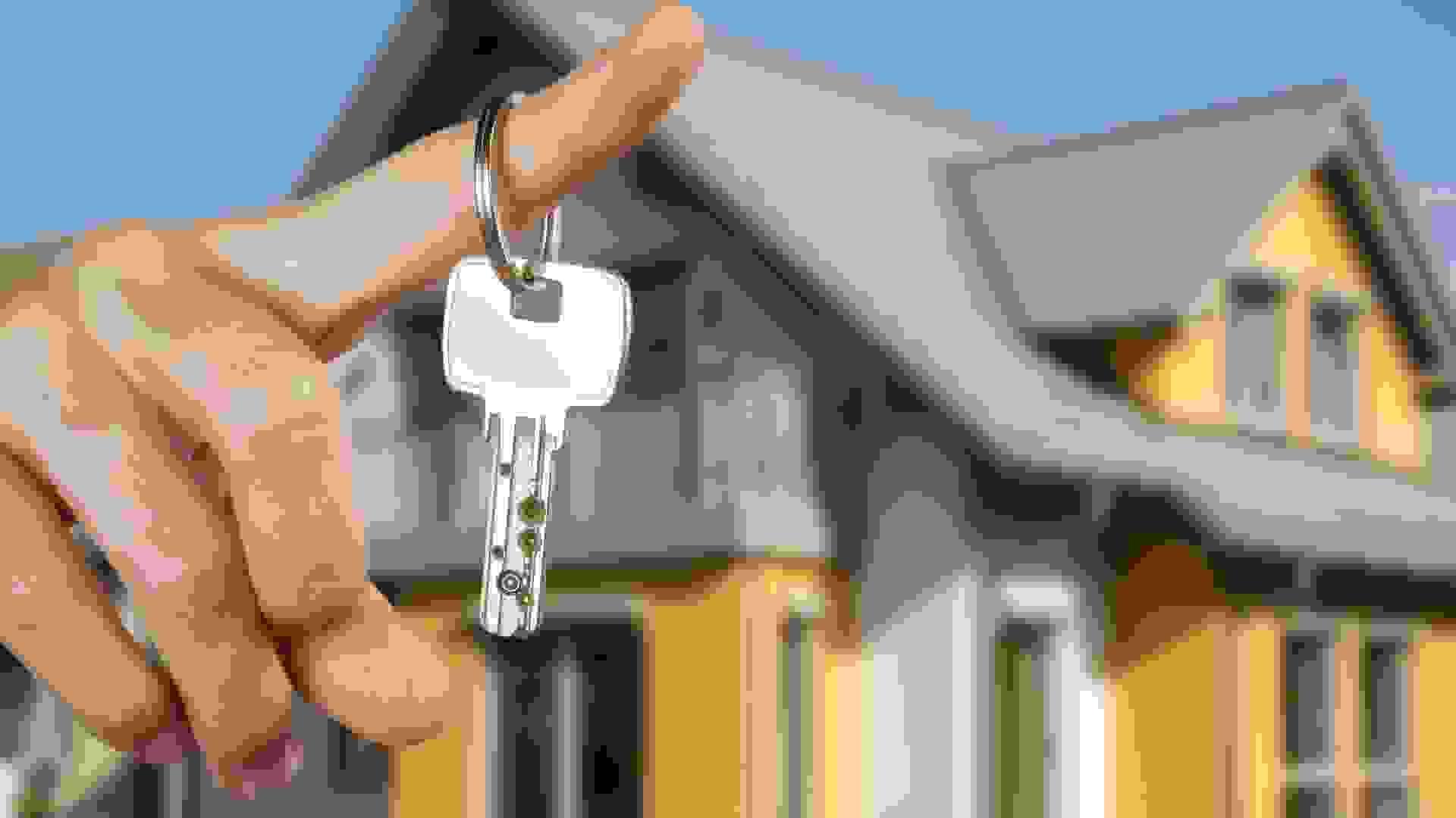 Hauskauf - Hausschlüssel