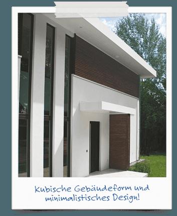 Bauhausstil: Kubische Gebäudeform