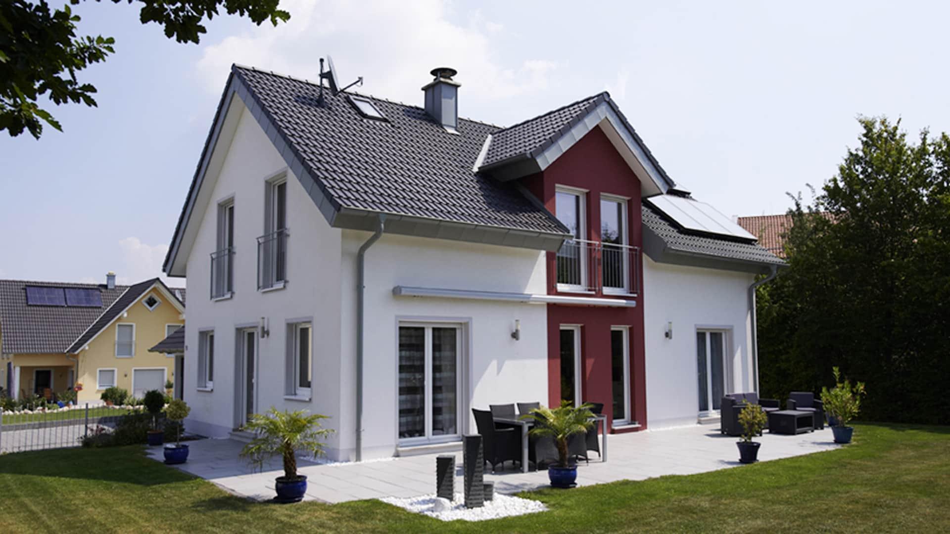 Einfamilienhaus von Dennert Massivhaus