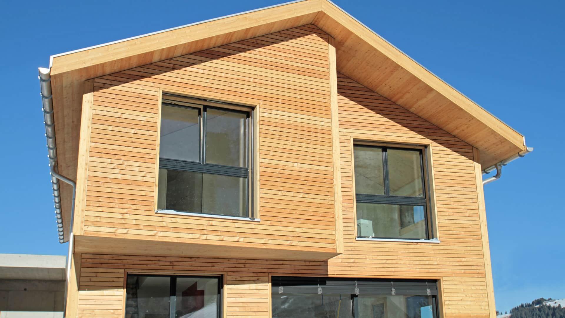 Aus Liebe zum Holz: Das Holzhaus