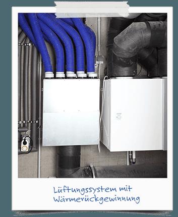 Passivhaus Lüftung und Wärmetauscher