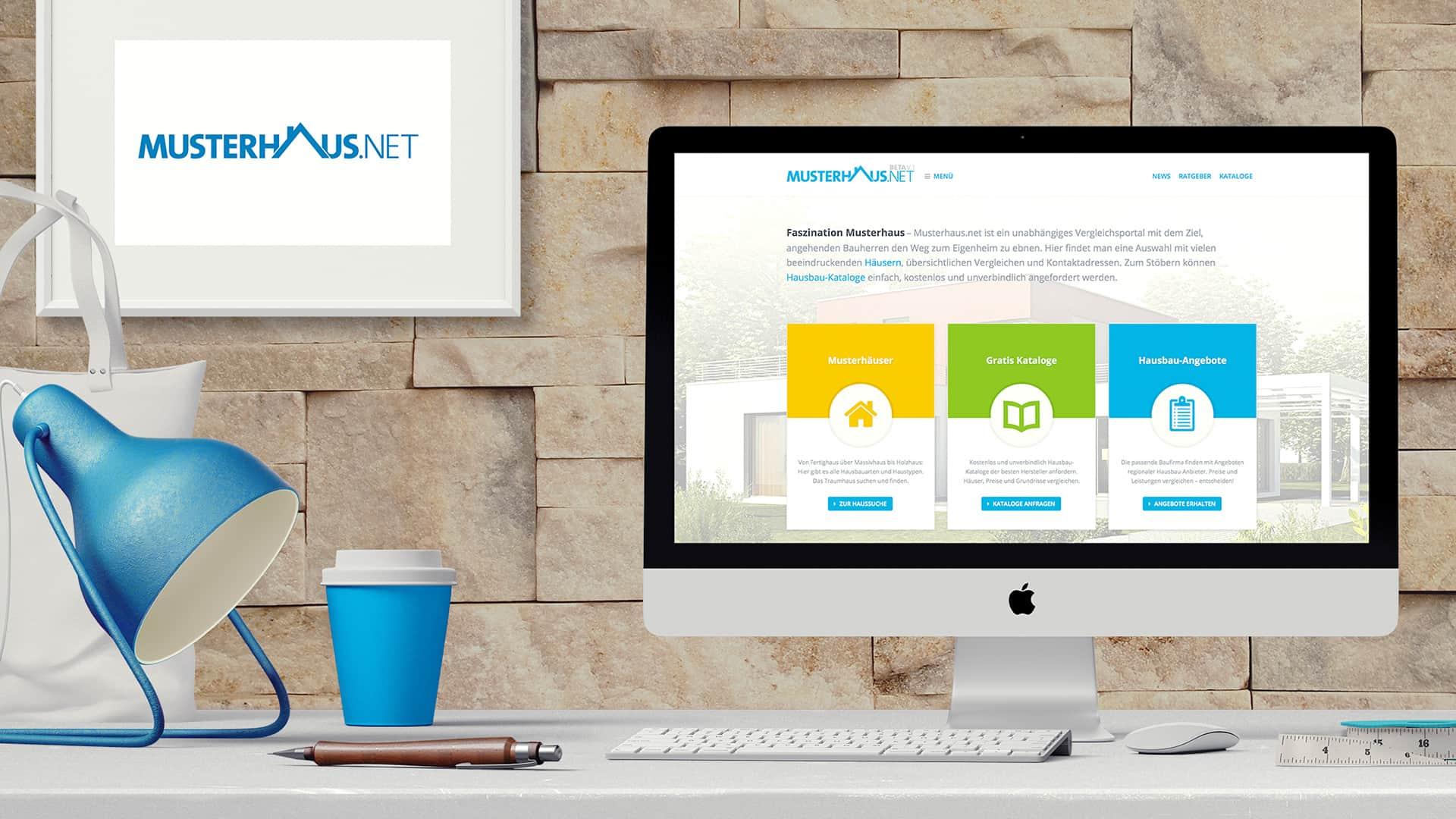 Musterhaus.net neues Design