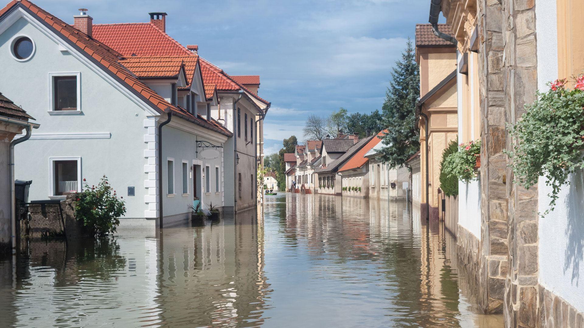Unwetter-Schutz Starkregen